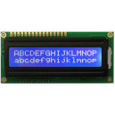 Display LCD1602 Azul