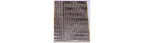 Placas Perforadas Tiras y Topos